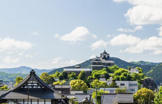 福知山の街