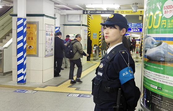 兵庫県警察鉄道警察隊巡査