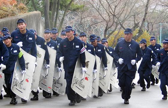 兵庫県警察警察学校巡査長