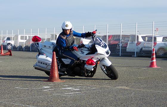 兵庫県警察交通機動隊巡査