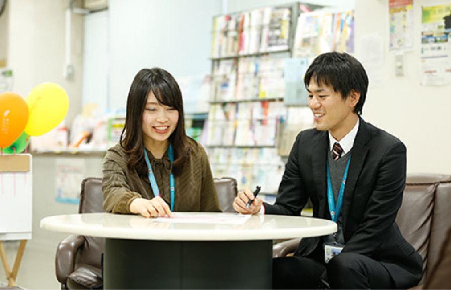 京都市役所の研修風景