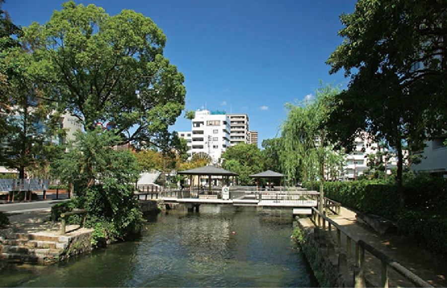 岡山市の恵まれた自然環境