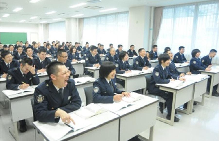 滋賀県警察官の研修風景