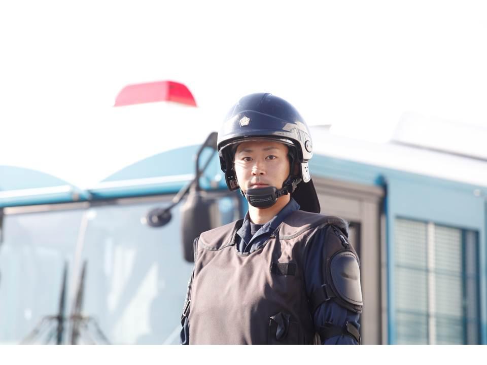 群馬県警警備警察の写真