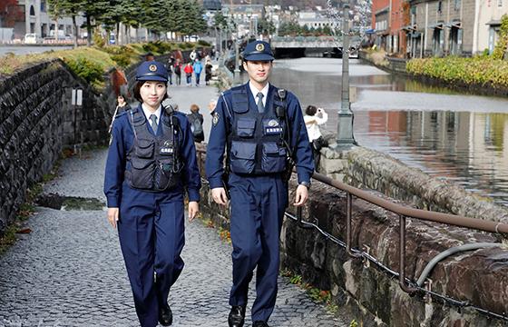 北海道警察のパトロール