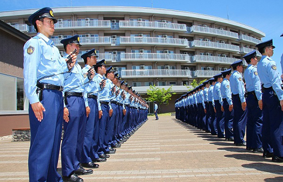 富山県の警察官