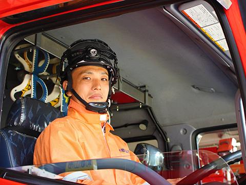 和歌山市役所中消防署署員