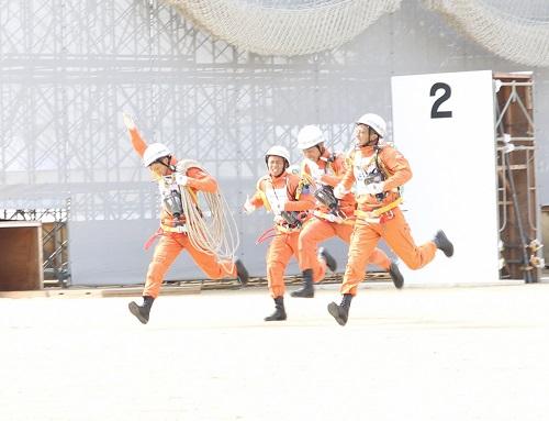 加古川市消防本部第48回全国消防救助技術大会出場