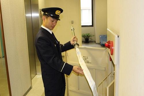 加古川市消防本部予防課職員