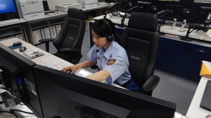 加古川市消防本部指令課職員