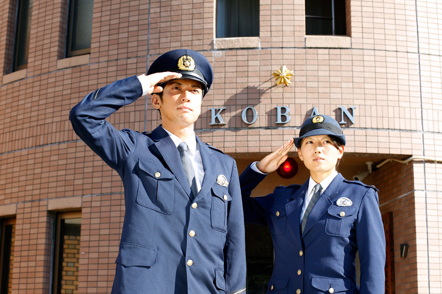 愛知県警察まずは交番勤務からスタート
