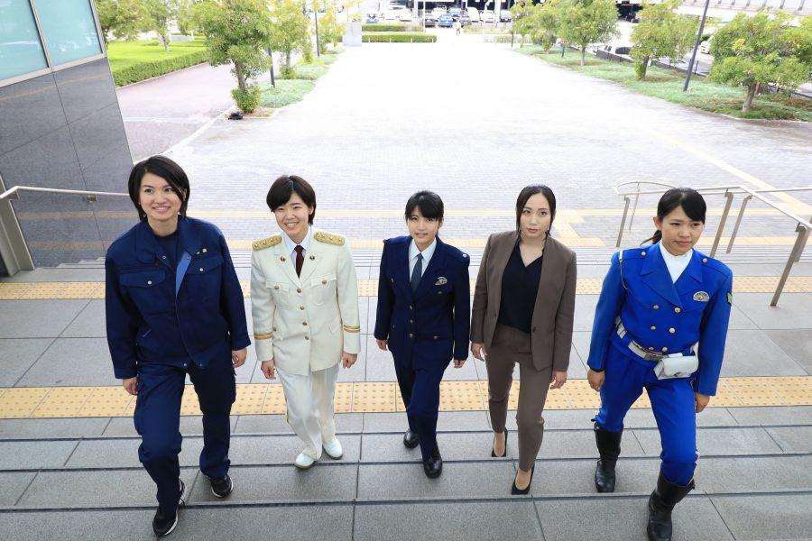 岐阜県警察にはさまざまな分野の仕事