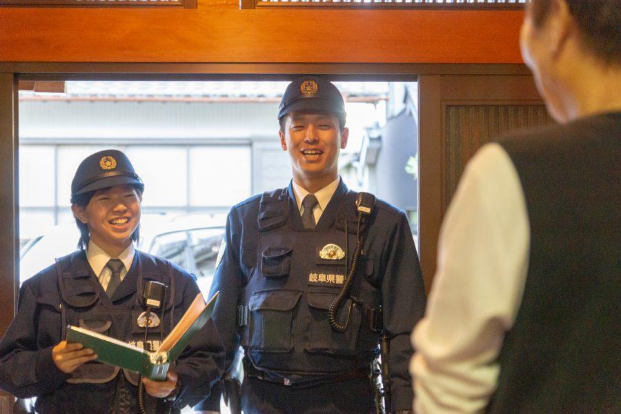 岐阜県警察地域部交番勤務