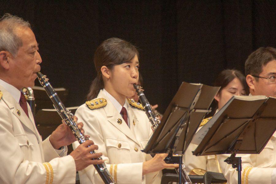 岐阜県警察音楽隊員