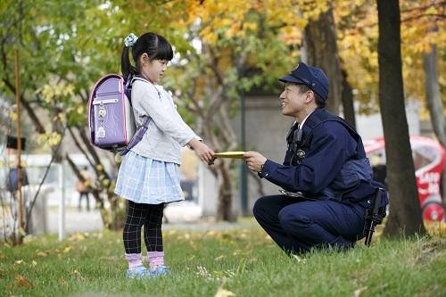 北海道警察の警察官の写真