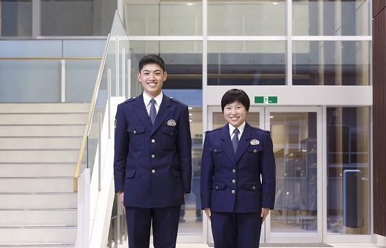 静岡県警察学校初任科学生